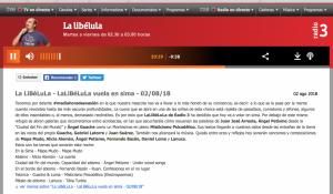 Radio 3 La Libélula 02:08:18