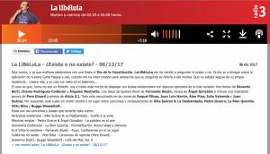 Radio 3 La Libélula 06:12:17